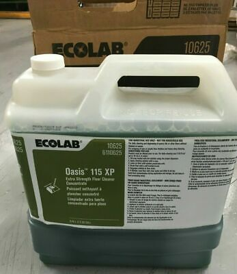 Ecolab 6110645 Oasis 115 XP Floor Cleaner 2.5 Gallons1