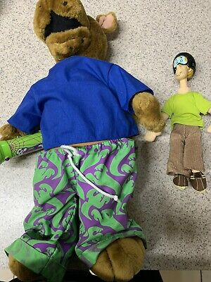 "Scooby Doo  18"" Talking & Shaggy 9 1/2 """