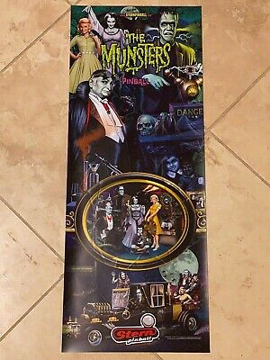 The Munsters Stern Pinball Vinyl Banner 13x33 Inches