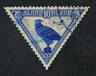 CKStamps: Iceland Stamps Collection Scott#C3 Used