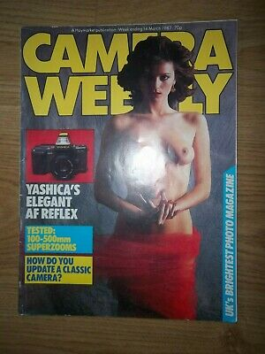 Camera Weekly Magazine 14th March 1987