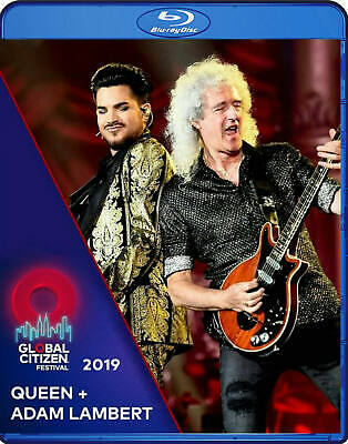 Queen + Adam Lambert Live At Global Citizen Festival Blu-Ray