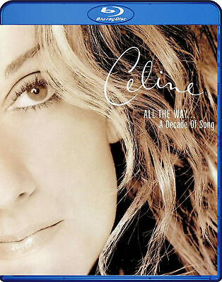 Celine Dion All The Way A Decade Of Song Blu-Ray High Fidelity Pure Audio