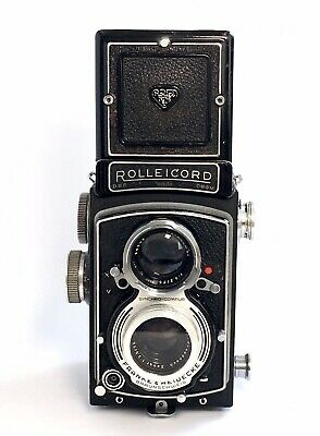Rolleicord V, 6x6 TLR Camera, Xenar Lens 3,5/75mm+ Filter (Good condition)
