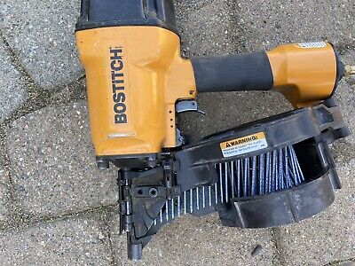 Bostitch N80CB Heavy Duty Coil Nailer Nail Gun (USED) 3 1/4″ 12D .PICK UP ONLY!