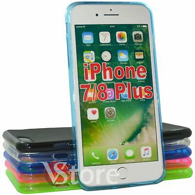 """Coque Housse Pour Apple IPHONE 7 8 Plus 5,5 """" Gel Silicone TPU Protection Gomme"""