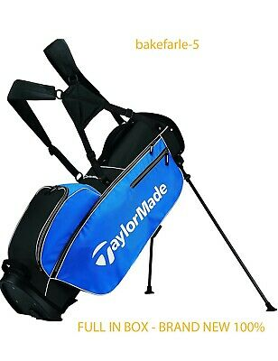 TaylorMade Golf TM Stand Golf Bag 5.0 Blue/Black/White - ALL NEW + FREESHIPPING