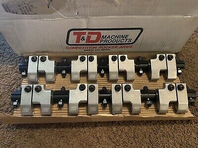 T&D SB Rocker Arms 1.6 Ratio Part# 8121 *Brand New