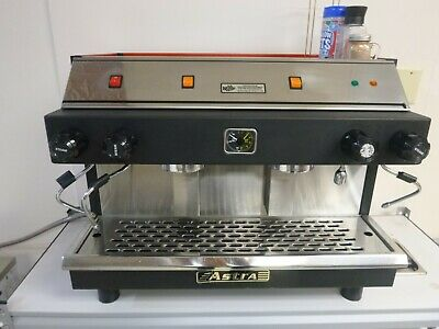 Astra professional espresso machine red NSF approved excellent running condition