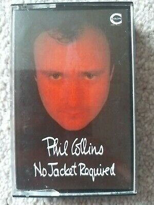 Phil Collins~ No Jacket Required-Rare ~ Cassette~ 80S .