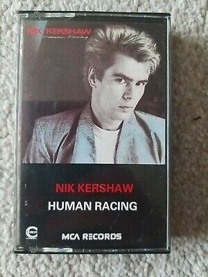 Nick Kershaw ~ Human Racing ~ album ~ cassette.