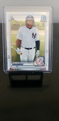 2020 Bowman Chrome Prospects Pick Your Player Dominguez Witt Huff Promo!!!