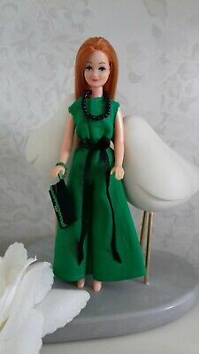 1970's style jumpsuit to fit 1970's Palitoy Pippa/Dawn doll - OUTFIT ONLY