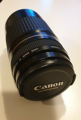 Canon EF 75-300mm MK III F4-5.6 Ultrasonic (USM) Zoom Lens  Front & Rear Caps