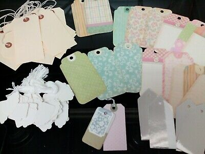 Craft Clear Out Job Lot 80+ Tags Gifts Crafts Fair Pricing New