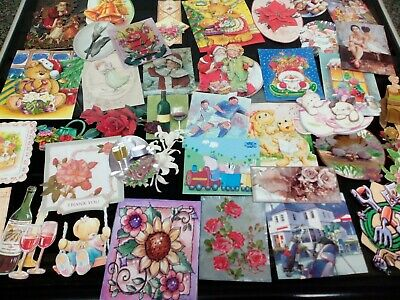 Job Lot 41 Ready Made Card Making Toppers Crafts All Occasions Selection