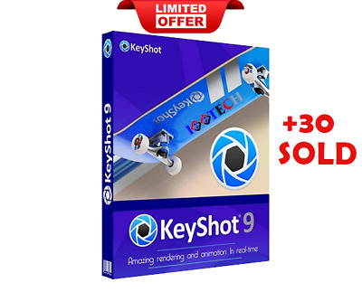 Luxion KeyShot Pro 9 2019 (Win) Full Version - Lifetime - Fast eDelivery ⚡