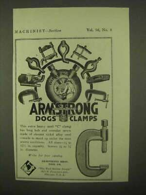 1922 Armstrong C Clamp Ad