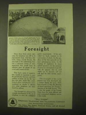 1922 AT&T Ad - Foresight
