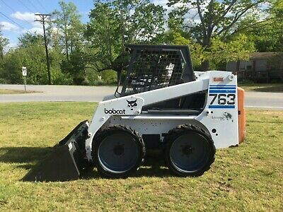 Very Nice Bobcat 763 Advantage Series Skid Steer with Only 1786 Hours