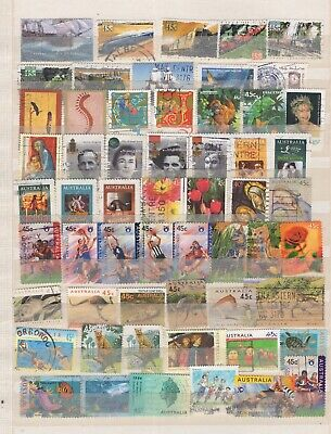 Australia, nice collection mostly modern (5562