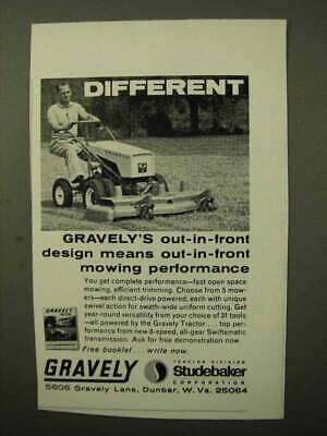 1964 Gravely Tractor Ad - Different