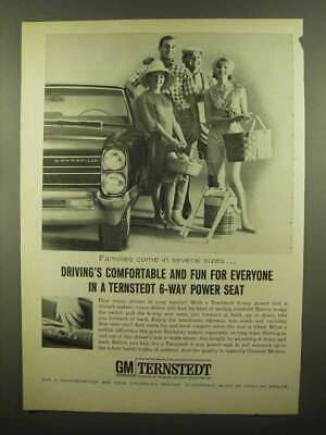 1965 GM Ternstedt 6-Way Power Seat Ad - Comfortable