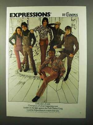 1971 Campus Expressions Clothing Ad