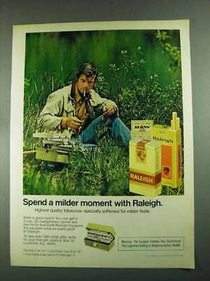1972 Raleigh Cigarettes Advertisement - Fishing
