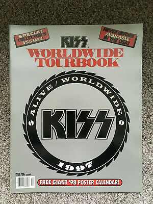Kiss Alive Worldwide Tourbook 1997 New Old Stock Warehouse Find