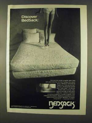 1978 Bedsack Bedclothing Ad - Discover