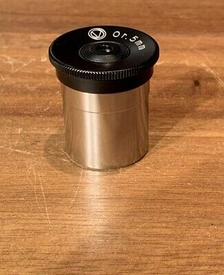 "Vixen telescope refractor reflector eyepiece .965"" 5mm orthoscopic Tasco JAPAN"