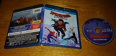 Spider-Man Into The Spider-Verse 2019 Blu-ray 1 Disc FREE SHIPPING