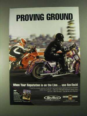 1995 RevTech High Performance Parts Ad - Proving Ground