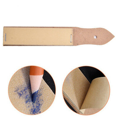 1X Sandpaper Pencil Pointer Sharpener Pointer Sand Paper DIY Art Drawing  RC