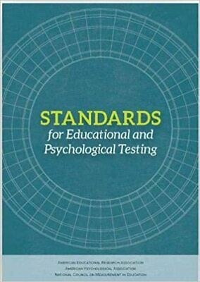 Standards for Educational and Psychological Testing by American Educatio|P.D.F|