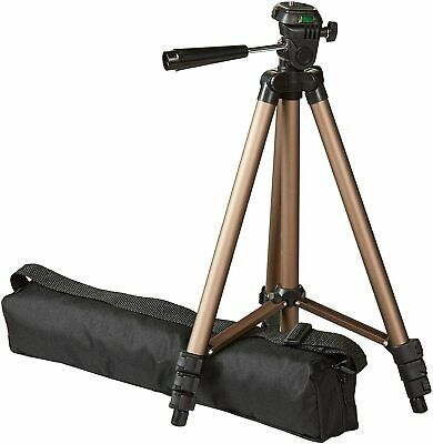 AmazonBasics Lightweight Camera Mount Tripod Stand With Bag 16.5 - 50 Inches