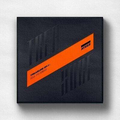 ATEEZ - TREASURE EP.1 : All To Zero CD+Booklet+3Photocards+Poster+Tracking No.