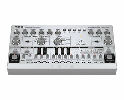 Behringer TD-3-SR Analog Bass Line Synthesizer/Synth w/ 16-Voice Poly Chain