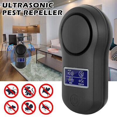 Ultrasonic Pest Reject Electronic Mosquito Killer Cockroach Insect Repeller~