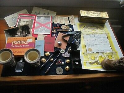 Job Lot Of Antique/Vintage Collectables With Silver 877 X