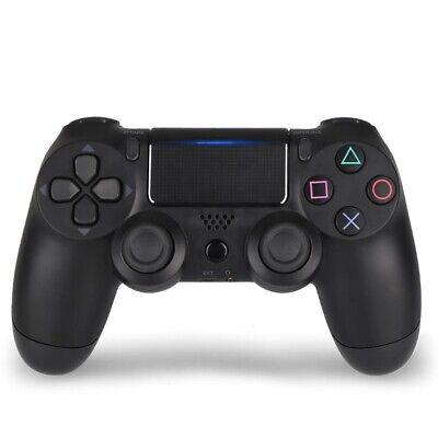 PS4 Wireless Controller Black High Quality Compatible with Playstation 4 & P.C