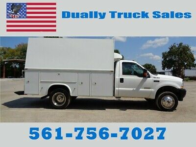 2004 Ford F550 Enclosed Superduty Mechanic Service Utility Truck
