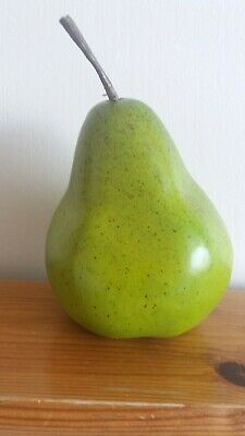 Geocache - Pear cache….3.5ins tall not including stalk