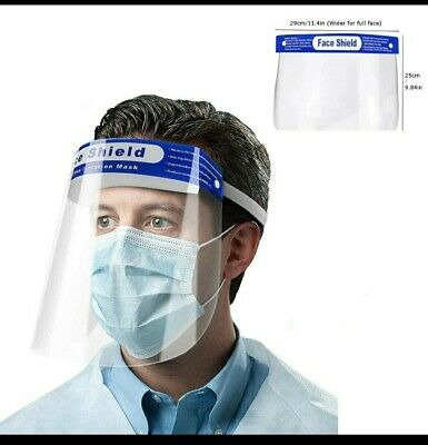 10 PCS Safety Face Shield Anti-Splash Reusable Washable Protection Cover USA