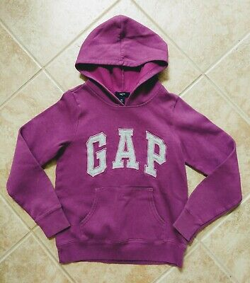 Girls GAP Kids Purple Hoodie Sweatshirt Size XL
