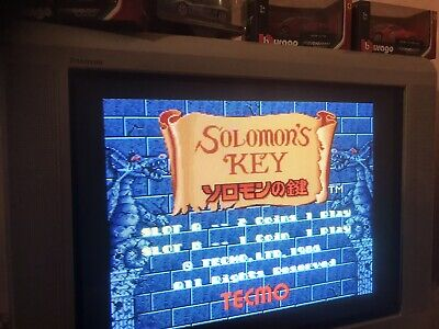 Solomon's Key , Jamma Pcb  . Working ( Video )