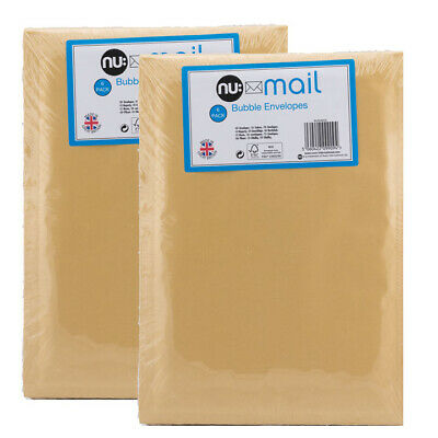 nu: GENUINE JIFFY GOLD PADDED BUBBLE ENVELOPES BAGS *ALL SIZES/QTY'S*