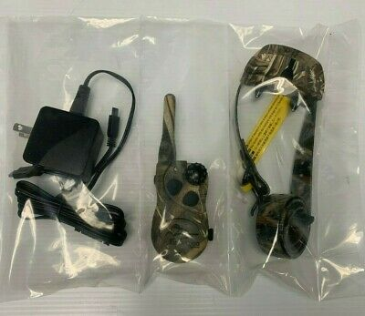 Unused SportDog Collar SD-425CAMO SDT00-13860 & Remote SDT00-13859 Wetland