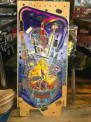 Dialed In Pinball Playfield - Unused, Slight Damage - Overall Very Nice - Signed